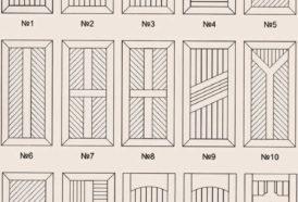 Металлические двери с вагонкой