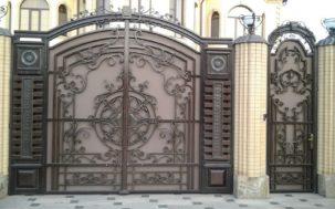 Металлические ворота на заказ