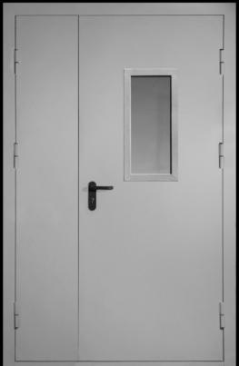 Противопожарная дверь двухстворчатая EIW60