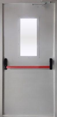 Дымогазонепроницаемая дверь EIWS30 с антипаникой