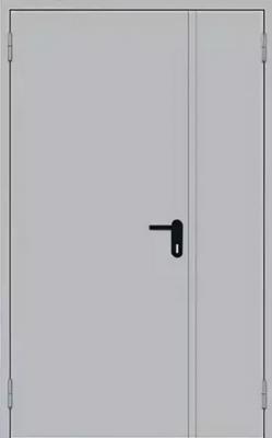 Дымогазонепроницаемая двупольная дверь EIS60