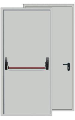 Дымогазонепроницаемая дверь EIS30 с антипаникой