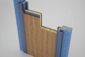Двухслойная металлическая дверь с двумя заменяемыми МДФ панелями