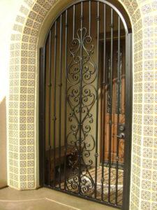 решетчетые двери